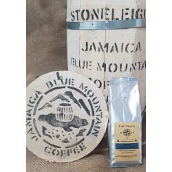 GOURMET KOFFIEBONEN.   JAMAICA BLUE MOUNTAIN. 250  G ℮.
