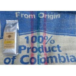 GOURMET KOFFIEBONEN.  COLOMBIA.  250 G ℮.
