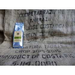 GOURMET KOFFIEBONEN.  COSTA RICA TARRAZU. 250 G ℮.